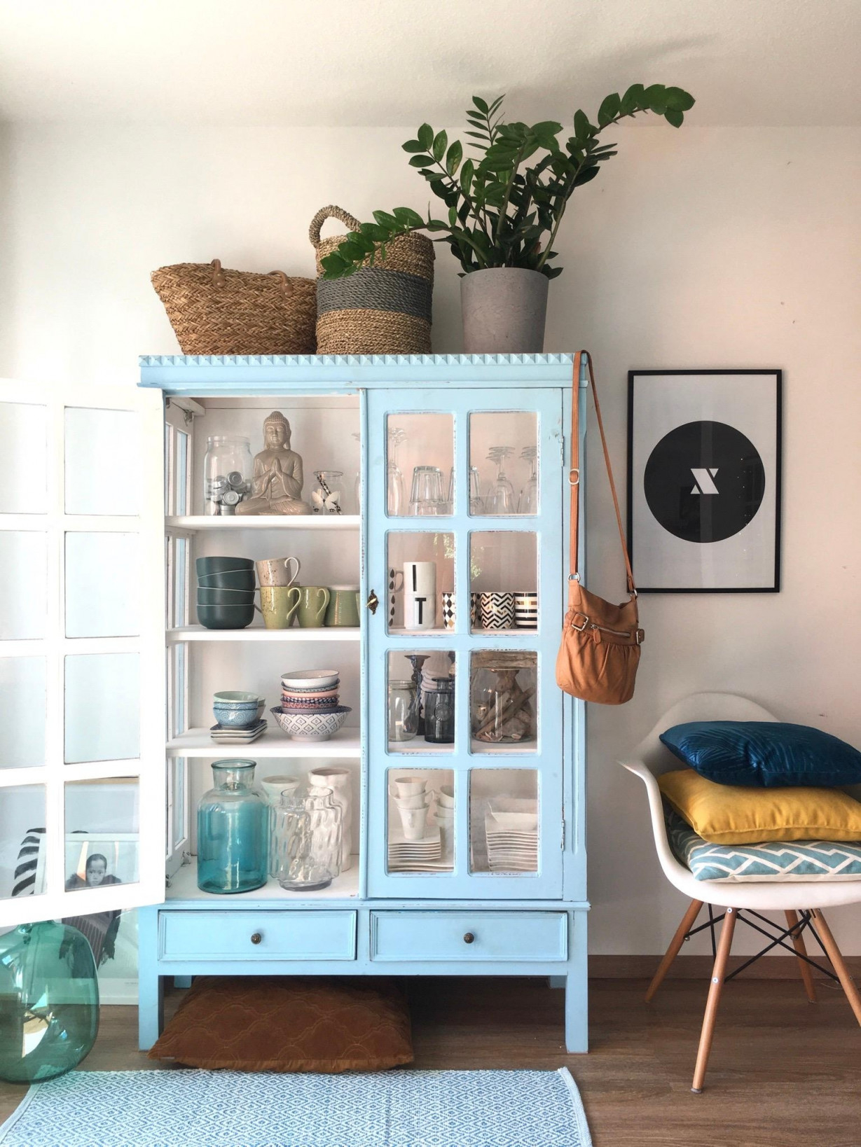 Vitrine • Bilder  Ideen • Couch von Deko Vitrine Wohnzimmer Bild
