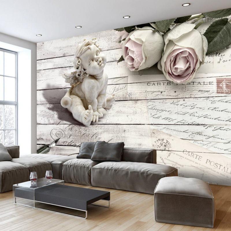 Vlies Fototapete 350X245 Cm  Top Tapete  Wandbilder Xxl von 3D Bilder Wohnzimmer Bild