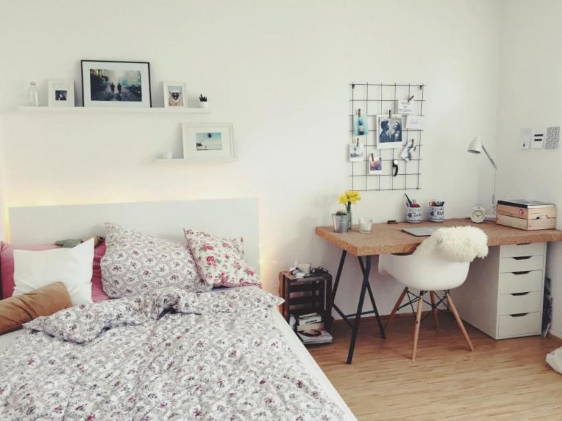 Voll Möbliertes 15Qm Zimmer In Münsters Hafenviertel von 15 Qm Wohnzimmer Einrichten Bild