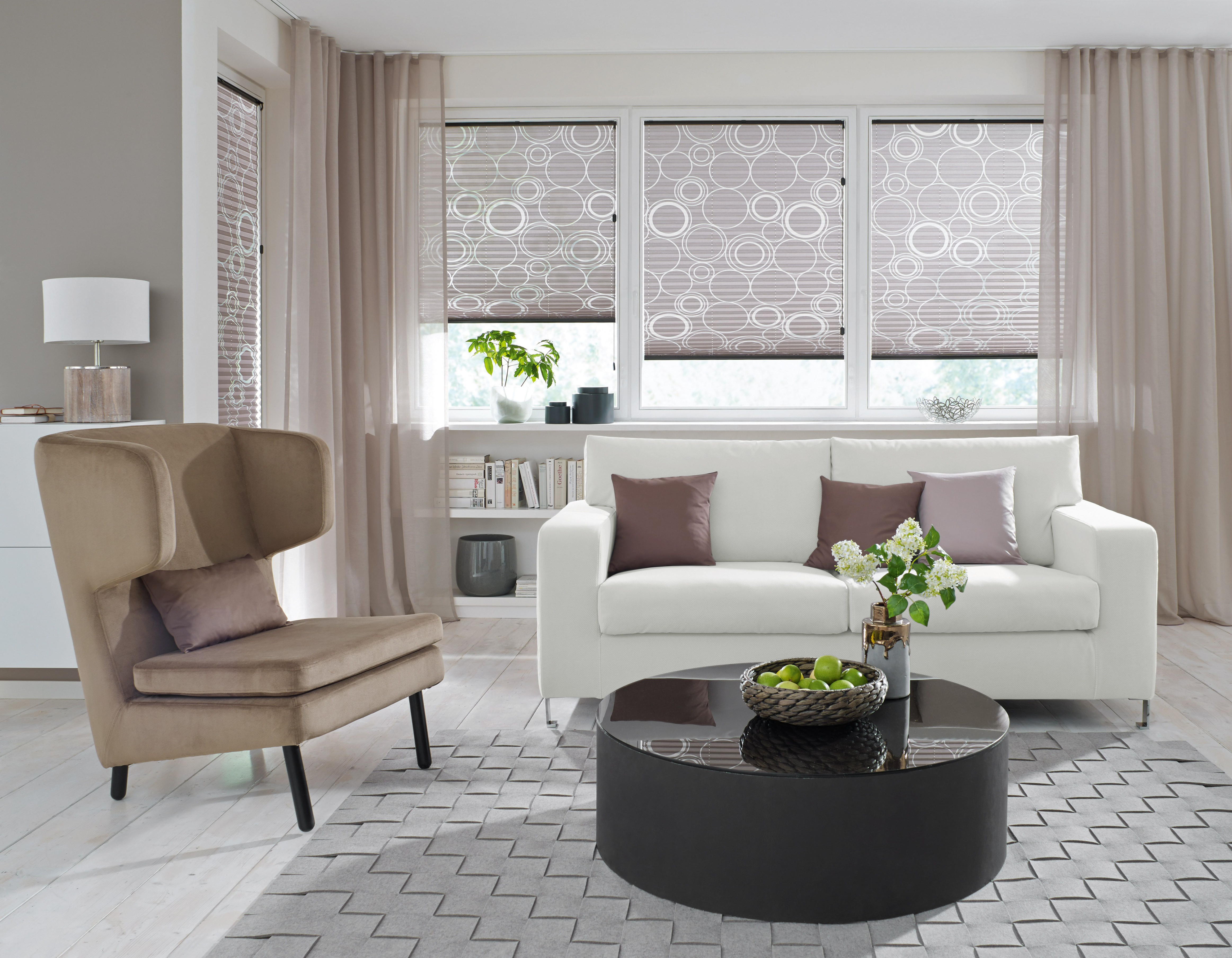 Vorhang Ideen Für Jeden Raum Im Kreis Lichtenfels Kulmbach von Gardinen Dekorationsvorschläge Wohnzimmer Modern Photo