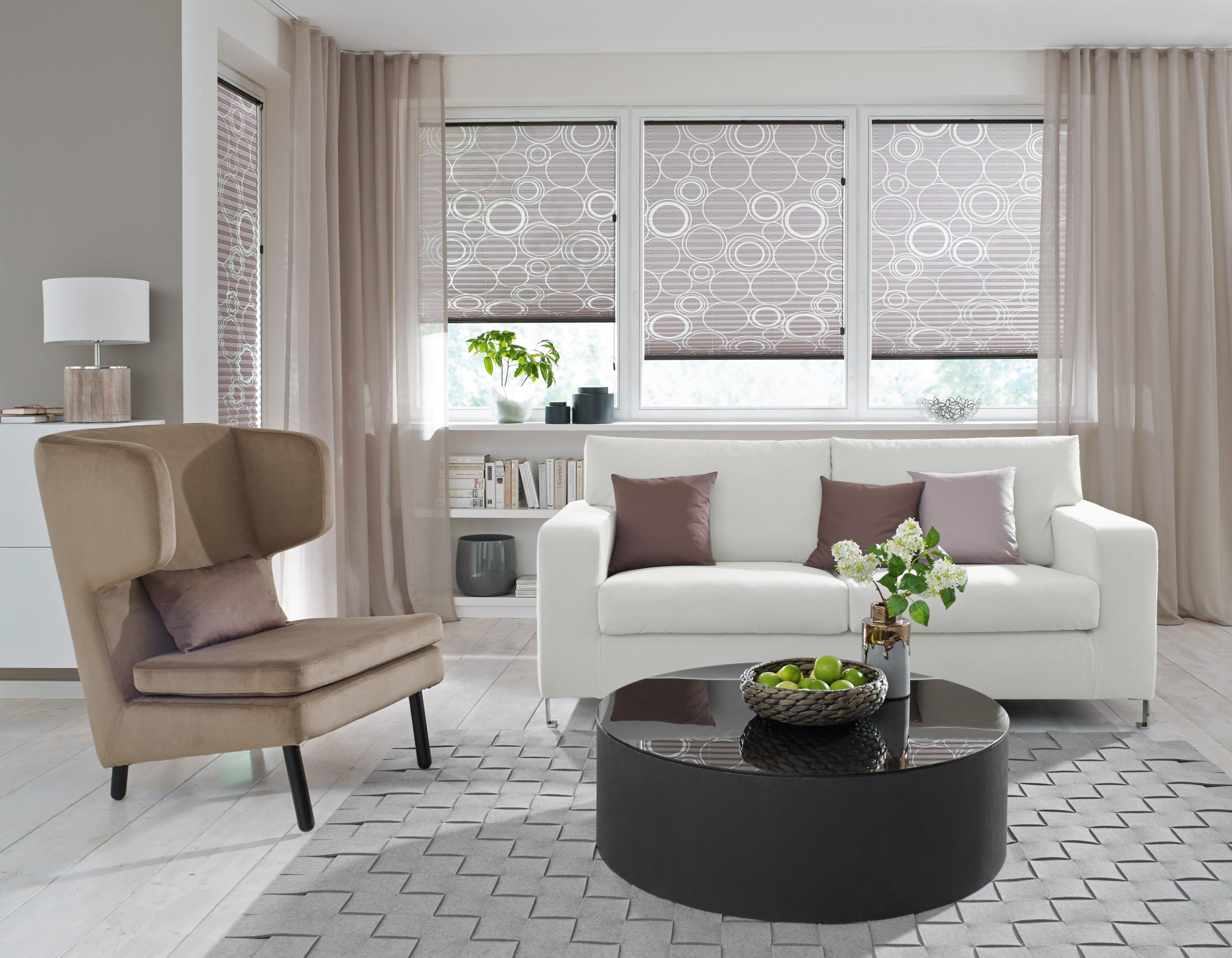 Vorhang Ideen Für Jeden Raum Im Kreis Lichtenfels Kulmbach von Gardinen Wohnzimmer Modern Bild