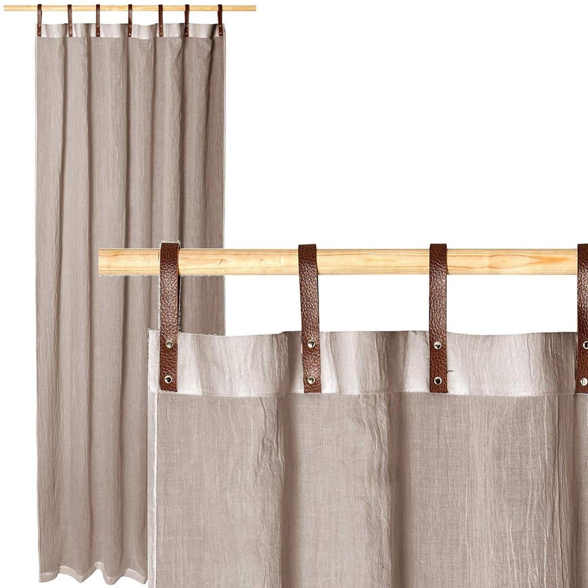 Vorhang Ideen Vorhänge Finden Mit Schlaufen Küche von Gardinen Wohnzimmer Mit Schlaufen Bild