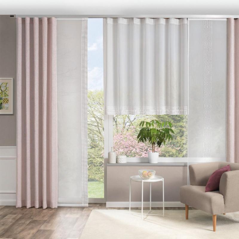 Vorhangdeko Für Ihr Wohnzimmer  Gardinen Wohnzimmer Modern von Gardinen Wohnzimmer Grau Bild