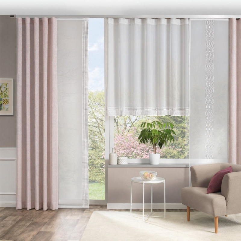 Vorhangdeko Für Ihr Wohnzimmer  Gardinen Wohnzimmer Modern von Schöne Wohnzimmer Gardinen Bild