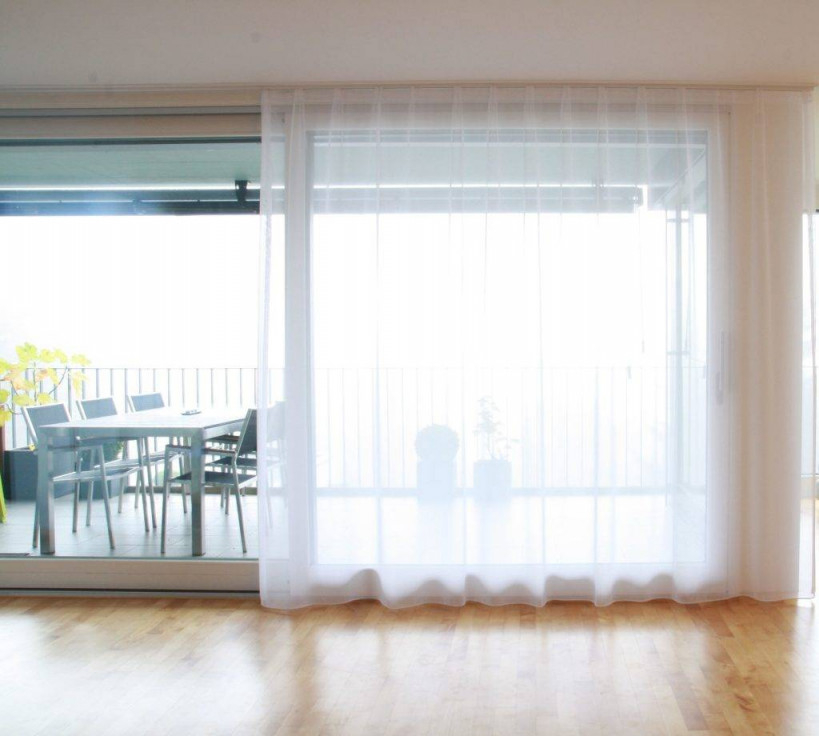 Vorhänge Für Grosse Fenster  Bestellen  Weisservorhangch von Gardinen Für Wohnzimmer Große Fenster Photo