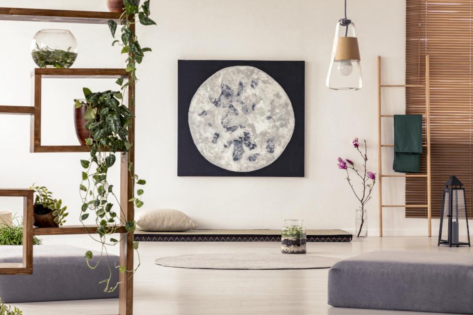 Wabi Sabi  Japanisch Einrichten  Puristisch Wohnen [Ratgeber] von Wohnzimmer Japanisch Einrichten Bild