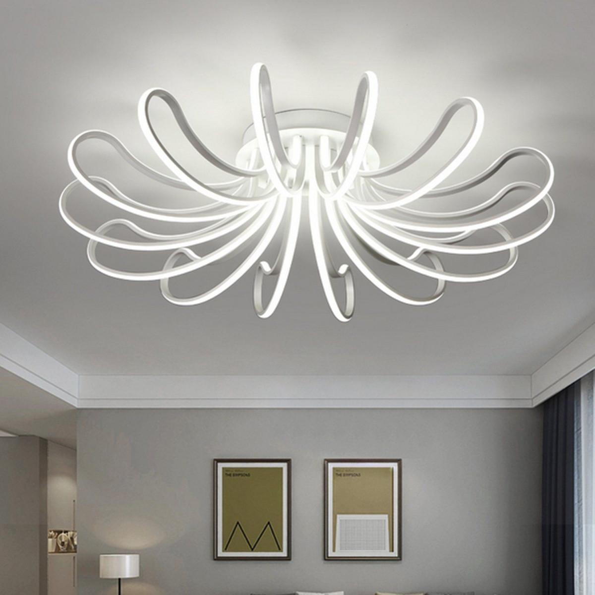 Waineg Designer Moderne Leddeckenleuchten Wohnzimmer von Designer Deckenlampe Wohnzimmer Bild