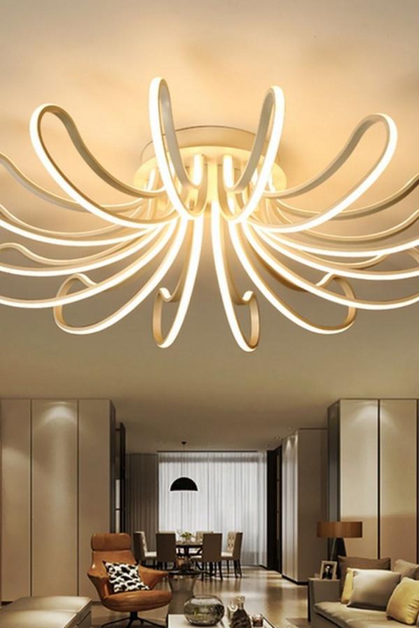 Waineg Designer Moderne Leddeckenleuchten Wohnzimmer von Wohnzimmer Lampe Design Photo