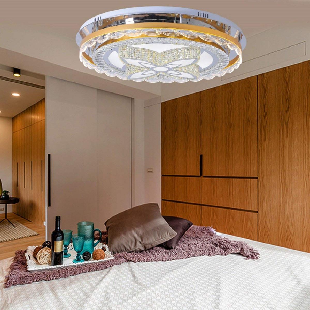 Waineg Moderne Luxus Atmosphäre Runde Led Deckenleuchte von Led Wohnzimmer Lampe Bild