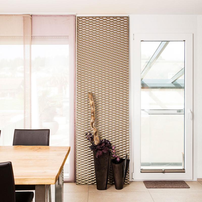 Wand Deko Metall  Für Ein Einzigartiges Zuhause – Streckmetall von Metall Deko Wohnzimmer Bild