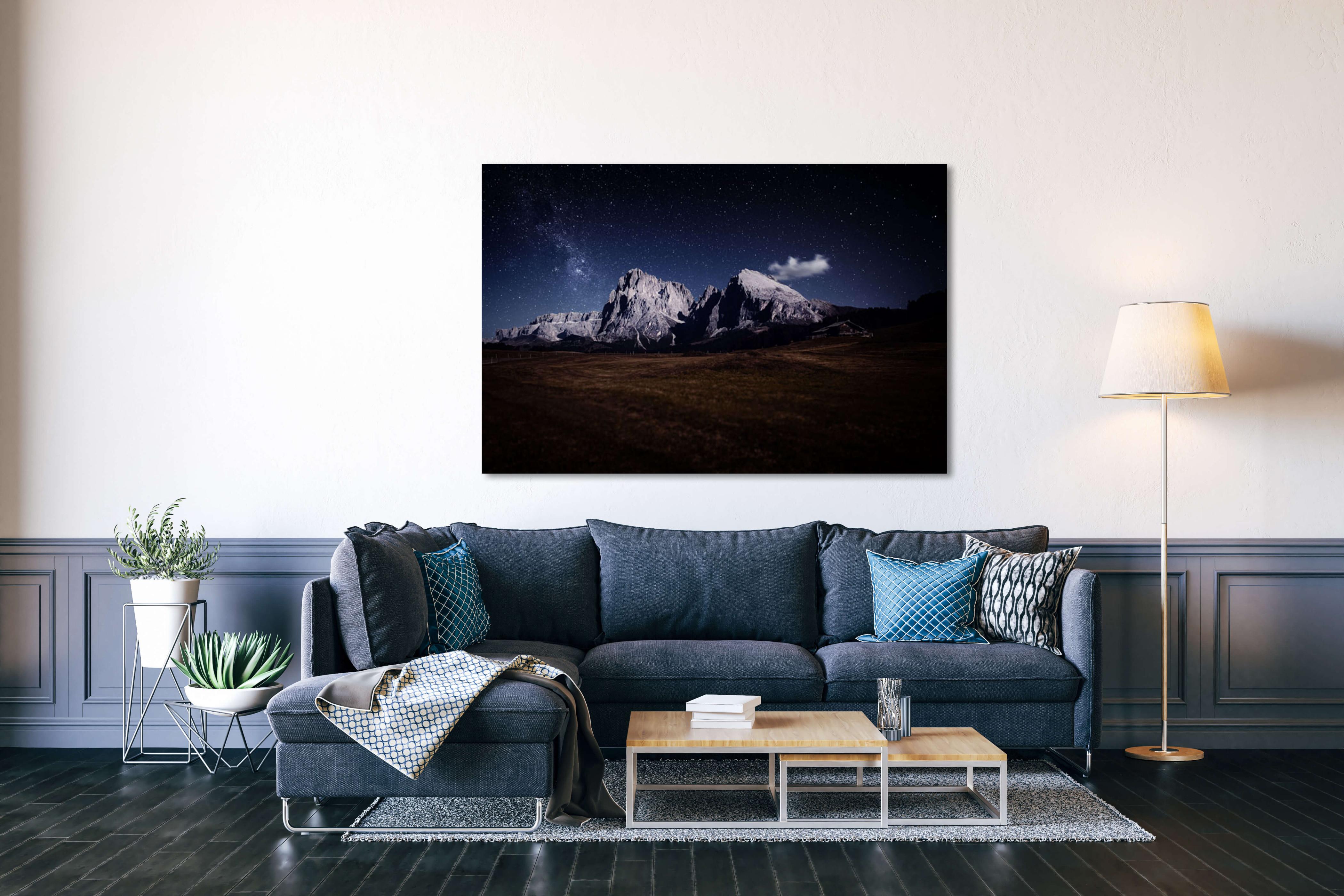Wandbilder Fürs Wohnzimmer • Nugloss Blog • Tipps Für von Bilder Großformat Wohnzimmer Bild