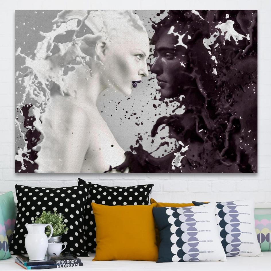 Wandbilderratgeber  Wall Art Klassiker  Magazin Wallart von Glasbilder Wohnzimmer Moderne Bild