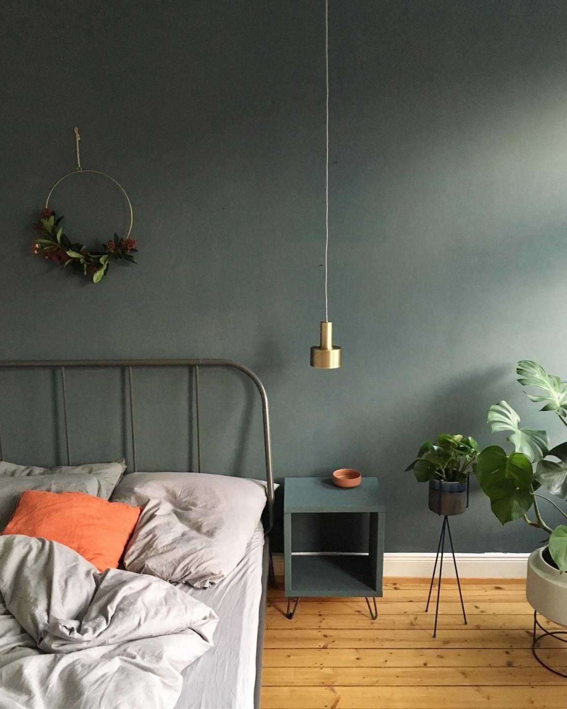 Wandfarbe Grün Die Besten Ideen Und Tipps Zum Streichen von Wohnzimmer Ideen Grün Photo