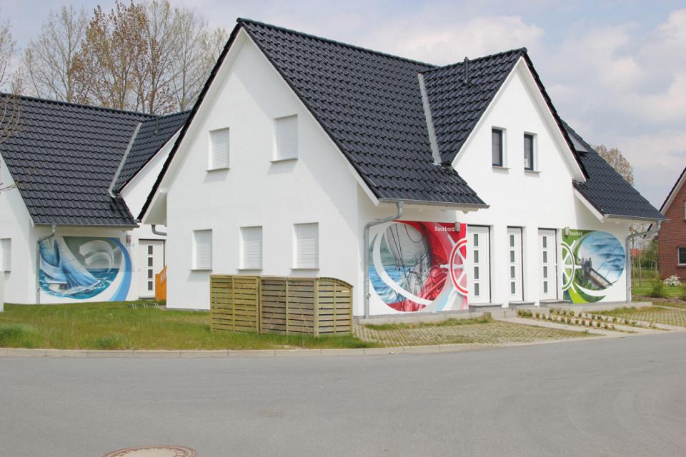Wandgestaltung – Ideen Bilder Und Tipps Von Dosensport von Wandmalerei Wohnzimmer Ideen Photo