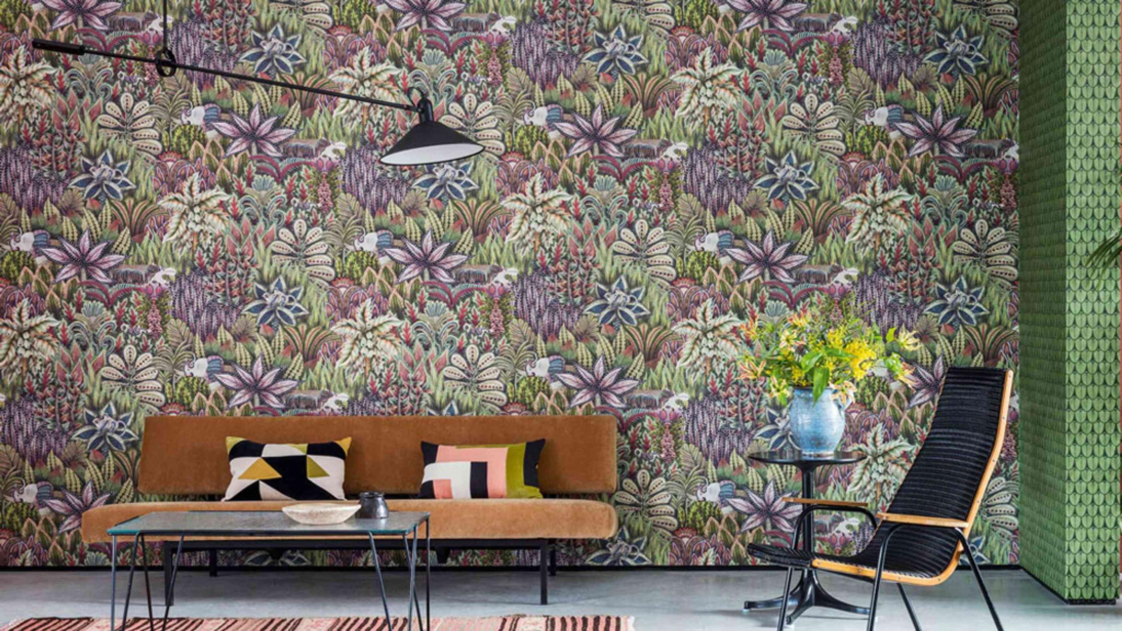 Wandgestaltung Im Wohnzimmer Tipps Zu Farben Tapeten von Stylische Tapeten Wohnzimmer Bild