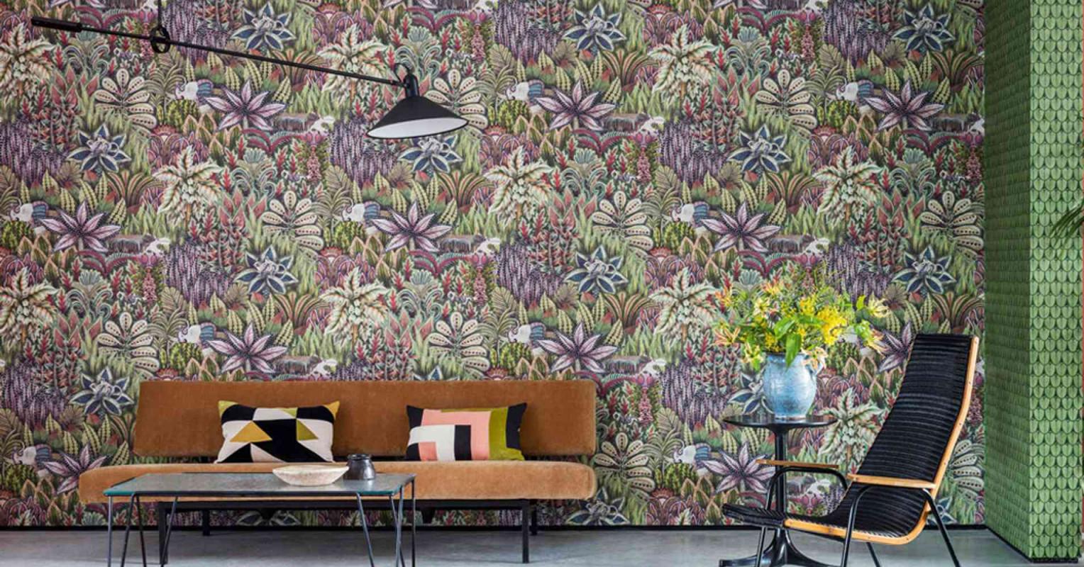Wandgestaltung Im Wohnzimmer Tipps Zu Farben Tapeten von Wohnzimmer Mit Tapete Gestalten Bild