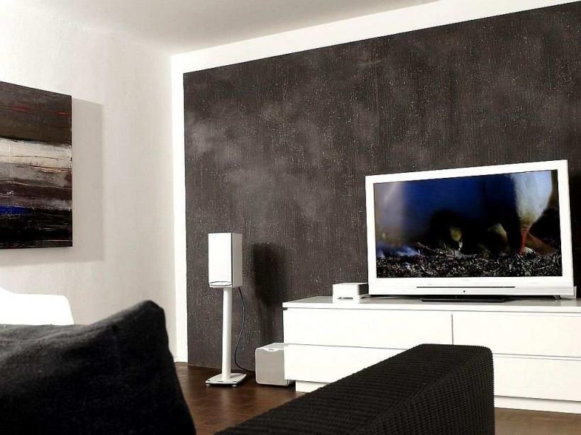 Wandgestaltung Mit Farbe Beispiele Frisch Wohnzimmer von Wohnzimmer Wände Gestalten Farbe Photo