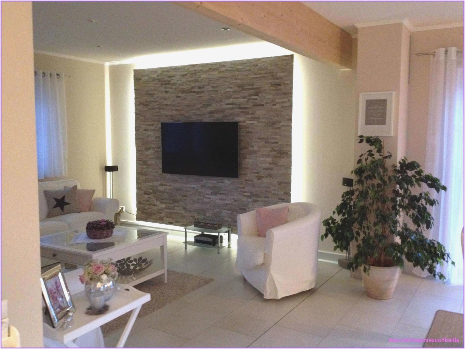Wandgestaltung Tapeten Wohnzimmer Ideen  Wohnzimmer von Ideen Wohnzimmer Wände Gestalten Bild