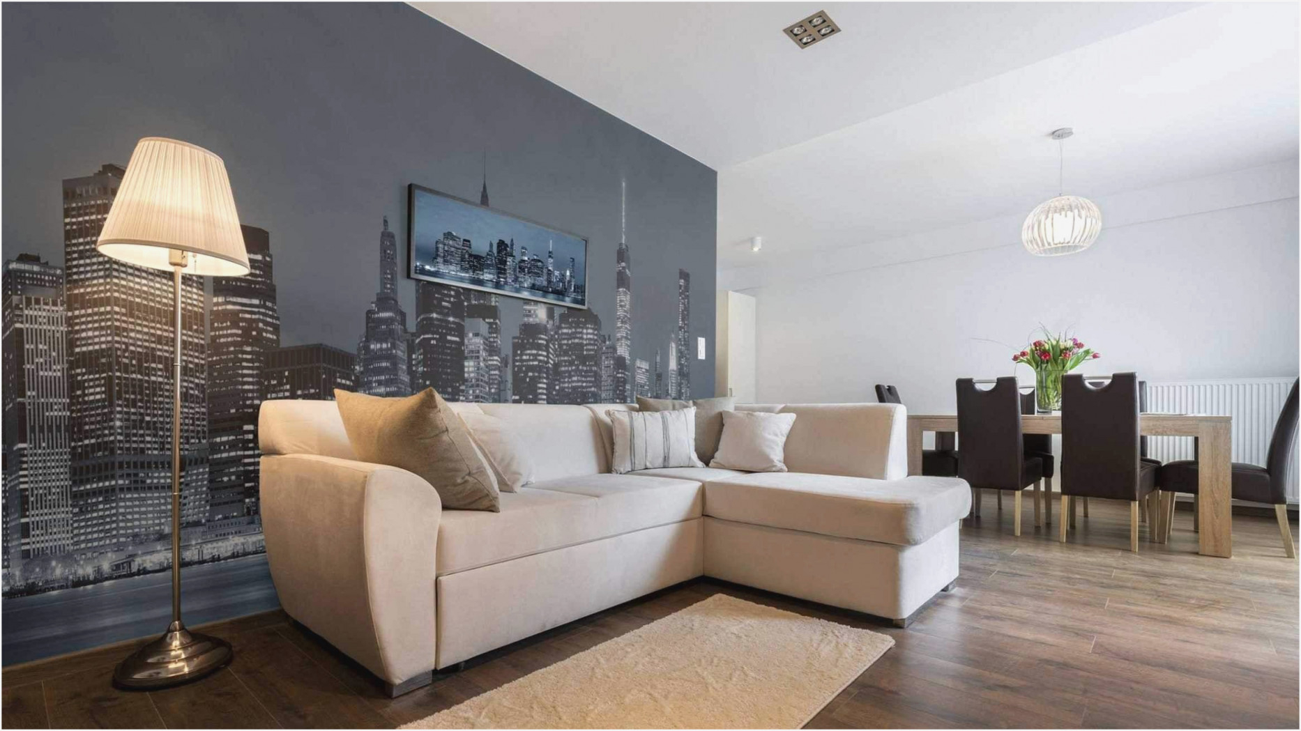 Wandgestaltung Wohnzimmer Beispiele – Caseconrad von Wohnzimmer Wandgestaltung Ideen Bild