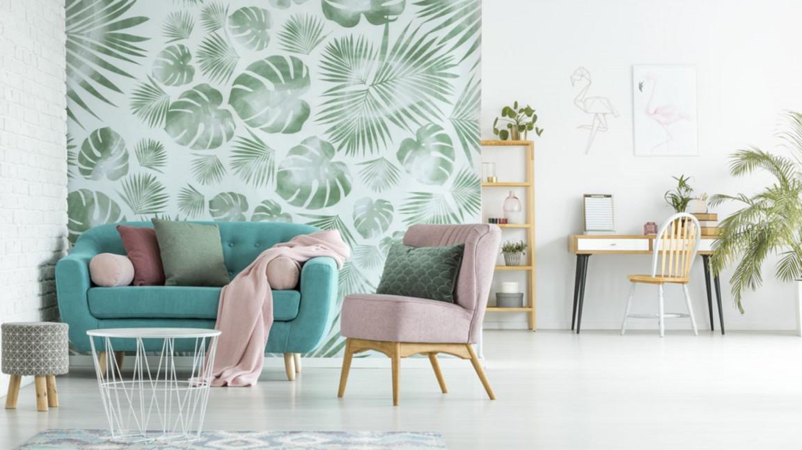Wandgestaltung Wohnzimmer – Die Schönsten Ideen  Brigitte von Wände Wohnzimmer Gestalten Bild