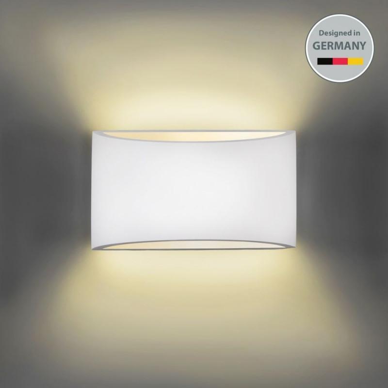 Wandleuchte Wandlampe Strahler Spot Flurlicht Weiss von Wohnzimmer Lampe Wand Bild