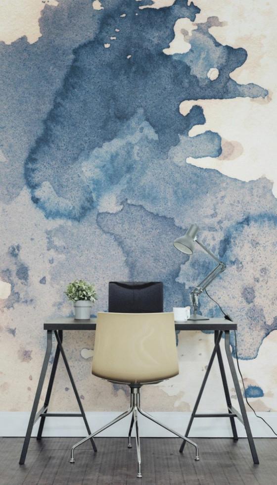 Wandmalerei Macht Das Wohnzimmer Noch Wohnlicher  30 von Wandmalerei Wohnzimmer Ideen Photo