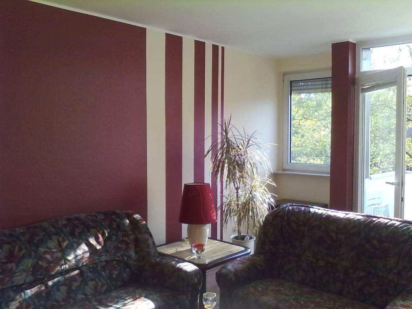 Wandstreifen Ideen Wohnzimmer Wohnzimmer Streichen Ideen von Wände Wohnzimmer Gestalten Bild