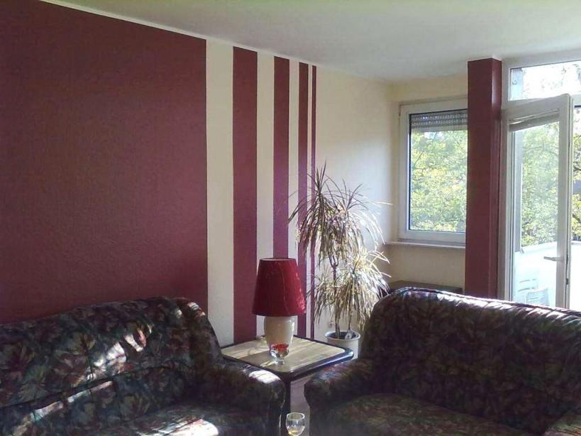 Wandstreifen Ideen Wohnzimmer Wohnzimmer Streichen Ideen von Wohnzimmer Malern Ideen Bild