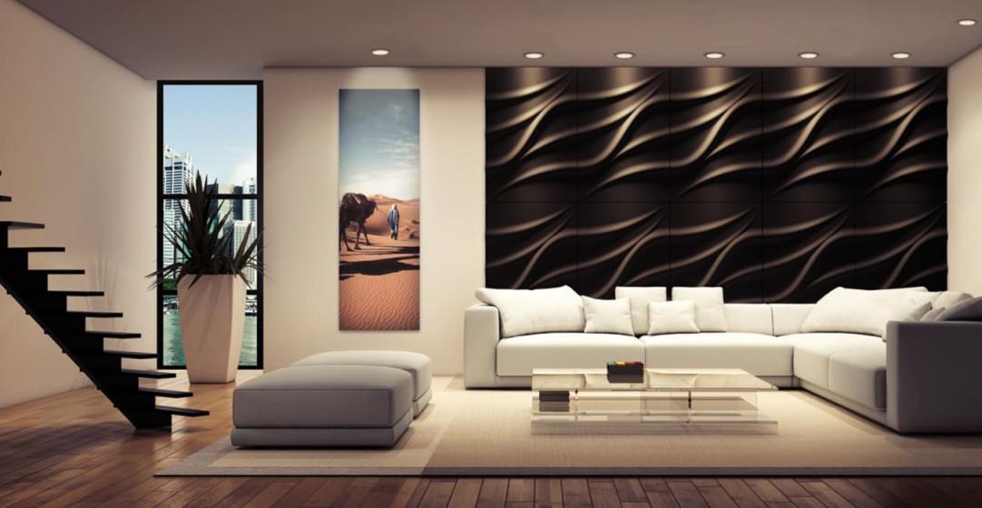 Wandverkleidung 3D Modell Nr 25 Tide Moderne Wohnzimmer Von von Moderne Wandverkleidung Wohnzimmer Bild