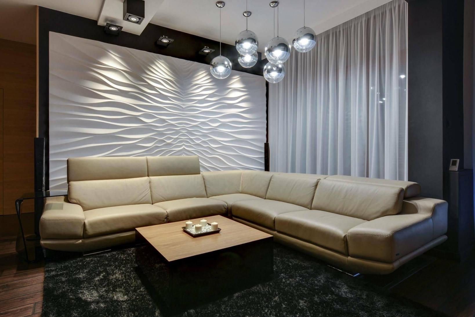 Wandverkleidung Individualisieren So Geht's von Moderne Wandverkleidung Wohnzimmer Bild