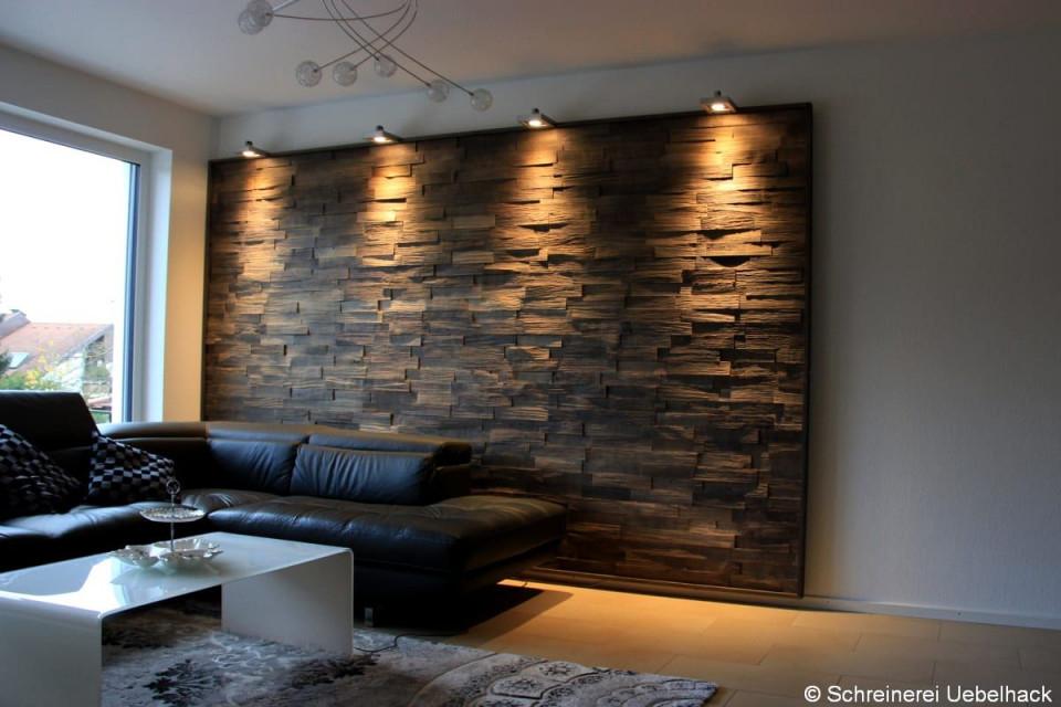 Wandverkleidung Stein Wohnzimmer Wandverkleidung Holz Und von Moderne Wandverkleidung Wohnzimmer Bild