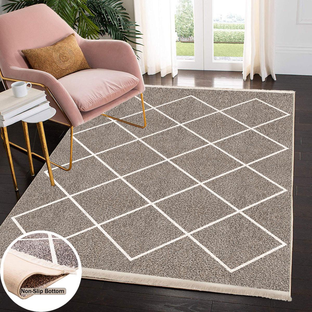 Waschbarer Teppich Wohnzimmer Küche Läufer Flur Teppichläufer  Küchenteppich Teppich Waschbare von Teppich Für Wohnzimmer Photo