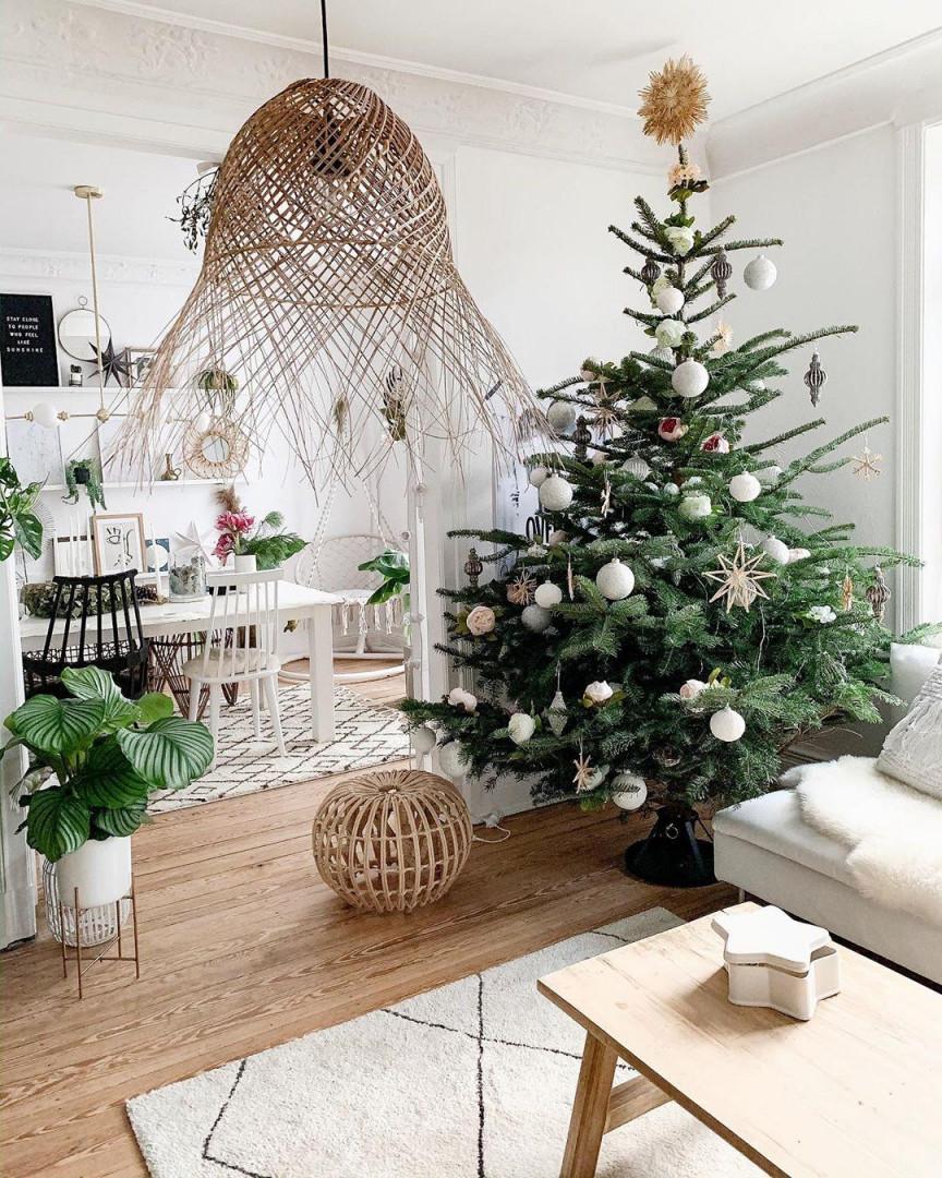 Weihnachtsdeko Ideen Lass Dich Inspirieren von Hänge Deko Wohnzimmer Bild