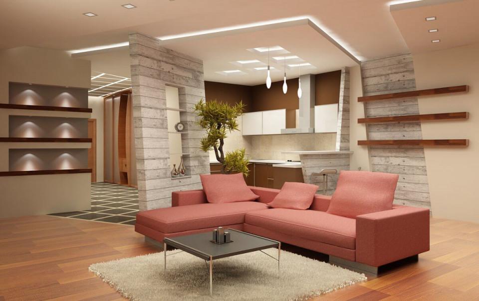 Welche Deckenlampe Für Das Wohnzimmer  Designlampenshop von Deckenlampe Für Großes Wohnzimmer Photo