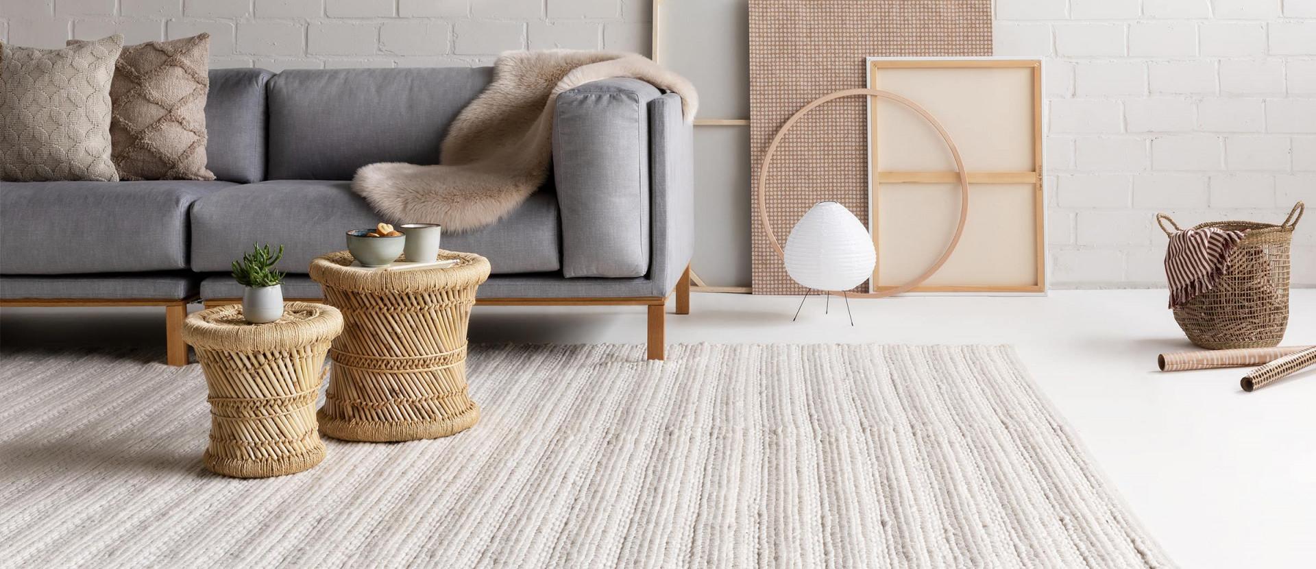 Welcher Teppich Passt Zu Mir  Hilfreiche Tipps von Pflegeleichter Teppich Wohnzimmer Bild
