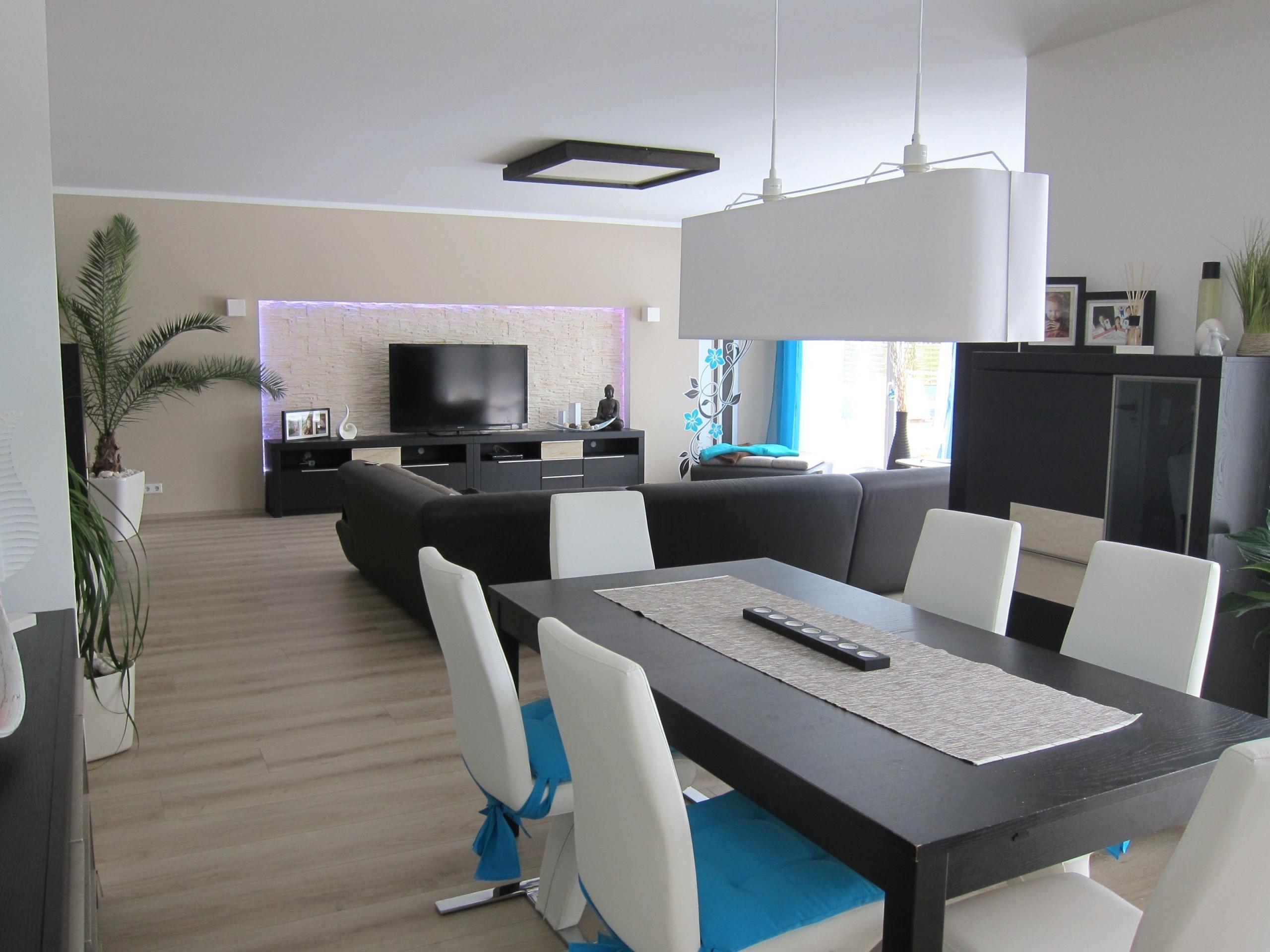Wohn Und Esszimmer Einrichtungsideen – Caseconrad von Wohnzimmer Mit Essbereich Ideen Bild