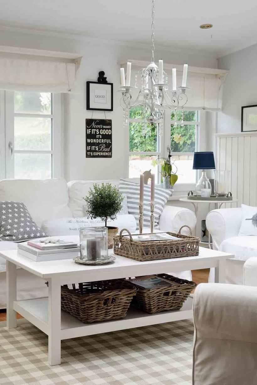 Wohnen – Ganz Romantisch  Wohnen Wohnzimmer Modern von Weiße Deko Wohnzimmer Photo