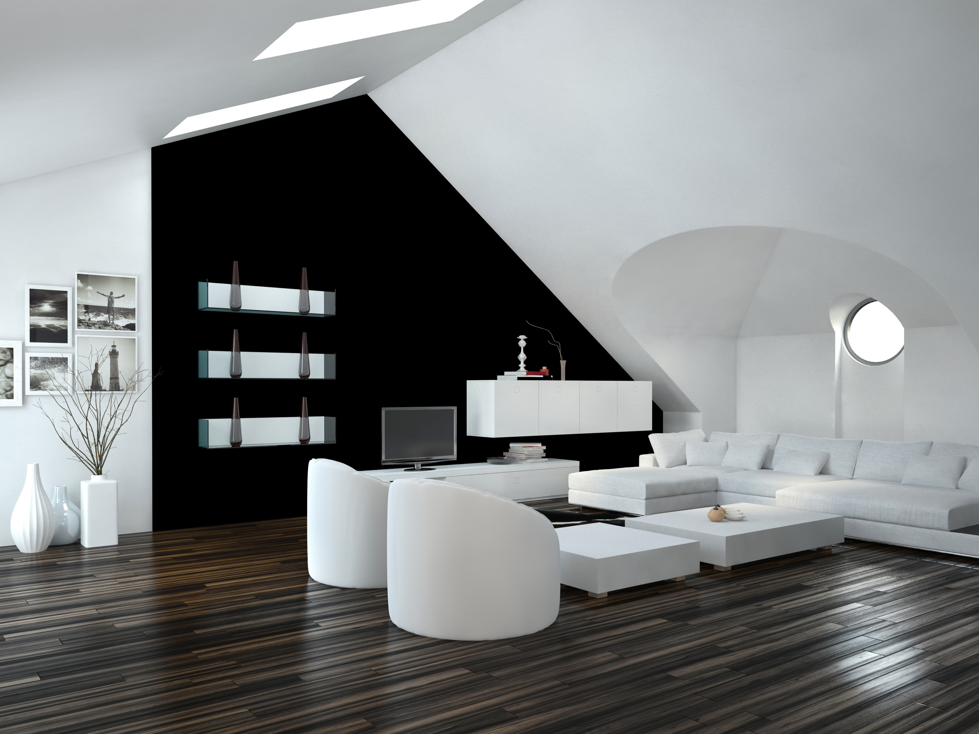 Wohnen In Kuschelweiß  Schultheiss Wohnbau Blog von Weiße Deko Wohnzimmer Bild
