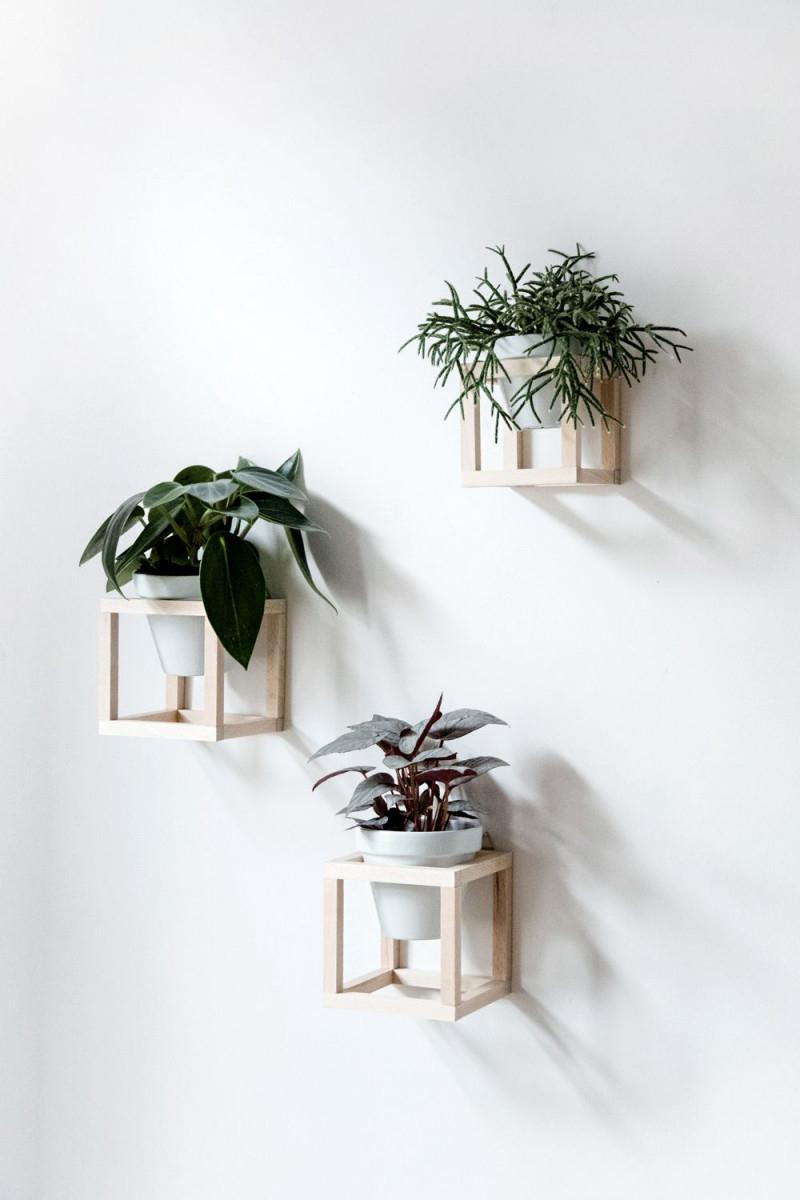 Wohnen Mit Pflanzen – Diy Hängende Pflanzenhalter von Hängende Deko Wohnzimmer Photo
