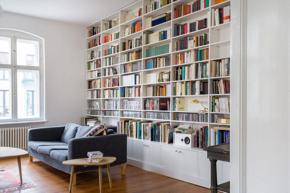 Wohnideen • Inlignum Möbel  Wohnen Bücherregal von Bücherregal Wohnzimmer Ideen Photo