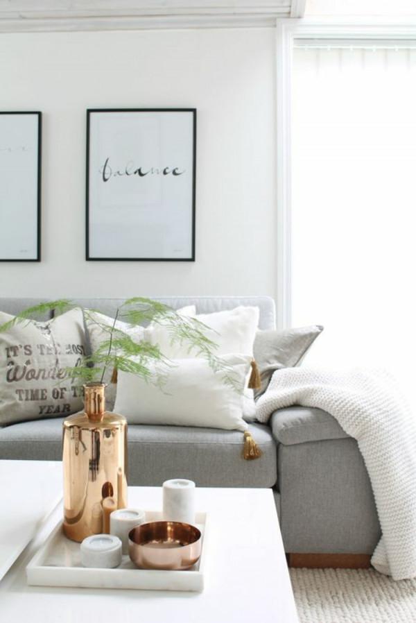 Wohnideen Wohnzimmer Deko – Caseconrad von Deko Gold Wohnzimmer Bild