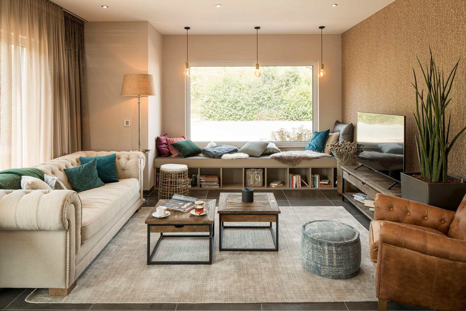 Wohnideen  Wohnzimmer In Beigetönen Mit von Wohnideen Bilder Wohnzimmer Photo