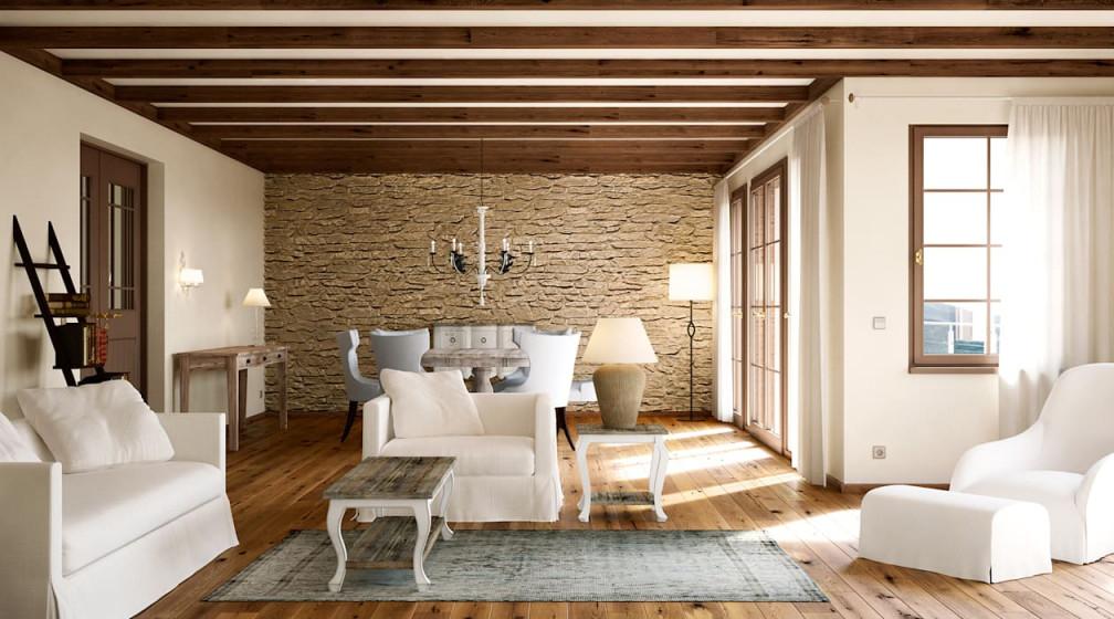 Wohnwelt Country Wohnzimmer Im Landhausstil Von Makasa von Bilder Landhausstil Wohnzimmer Bild