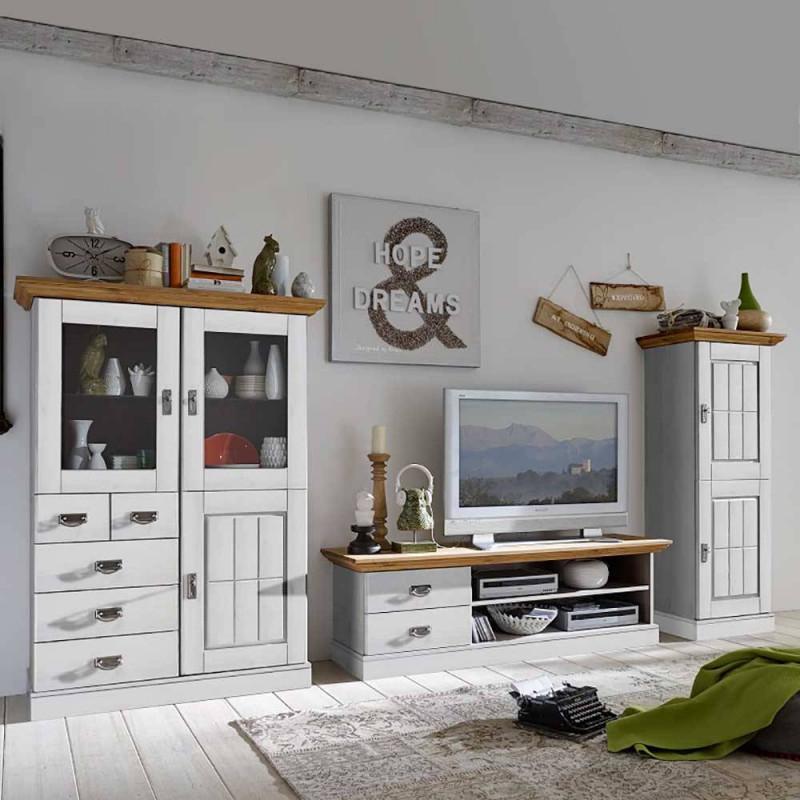 Wohnzimmer Anbauwand Voluntary von Wohnzimmer Im Landhausstil Bilder Bild