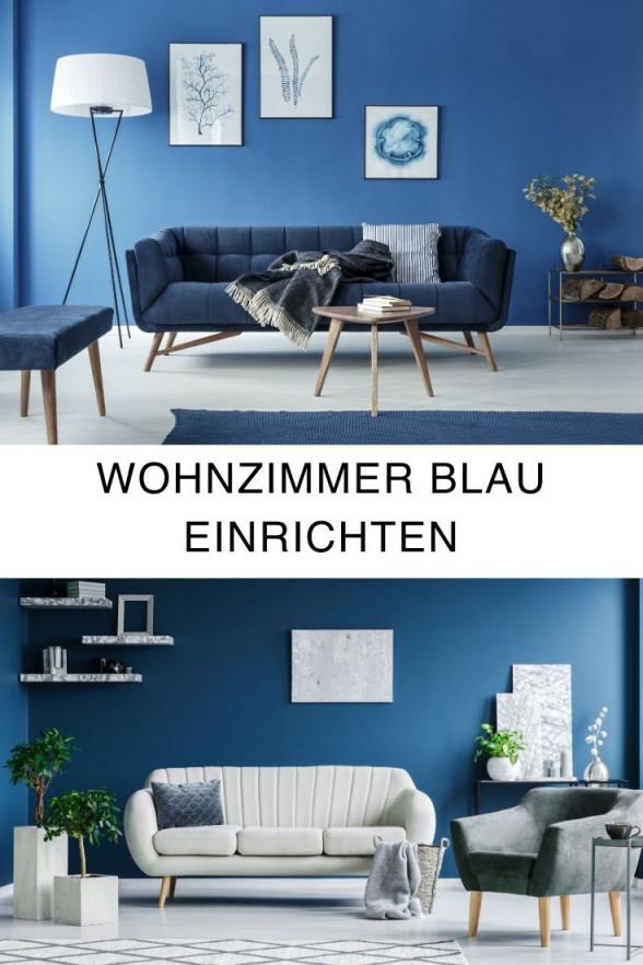Wohnzimmer Blau Einrichten  Wohnzimmer von Wohnzimmer Deko Blau Photo