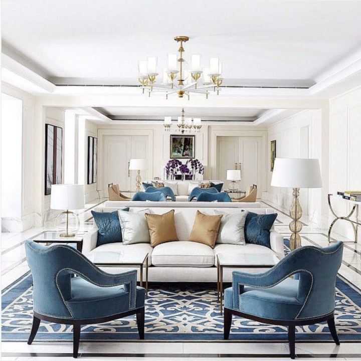 Wohnzimmer  Co Profitipps Und Ideen Zum Einrichten von Wohnzimmer Ideen Blau Photo