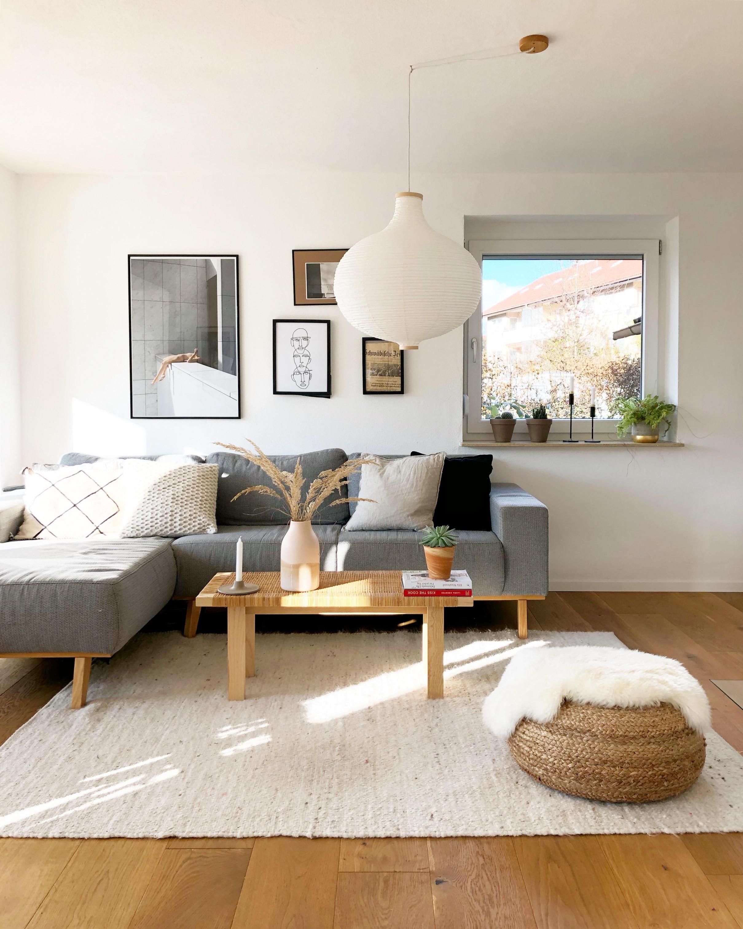 Wohnzimmer Couch Sofa Hängelampe Lampe Poster von Wohnzimmer Lampe Über Couchtisch Photo