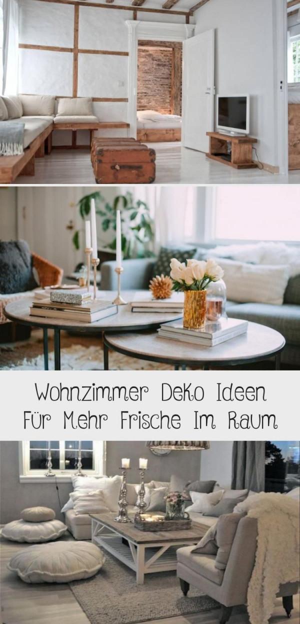 Wohnzimmer Deko Ideen Für Mehr Frische Im Raum  Dekoration von Kerzen Deko Wohnzimmer Photo