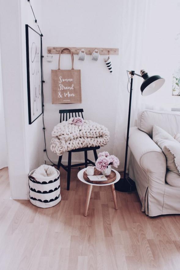 Wohnzimmer Dekoration  Ein Paar Tipps Zur Wandgestaltung von Wohnzimmer Ecke Deko Photo