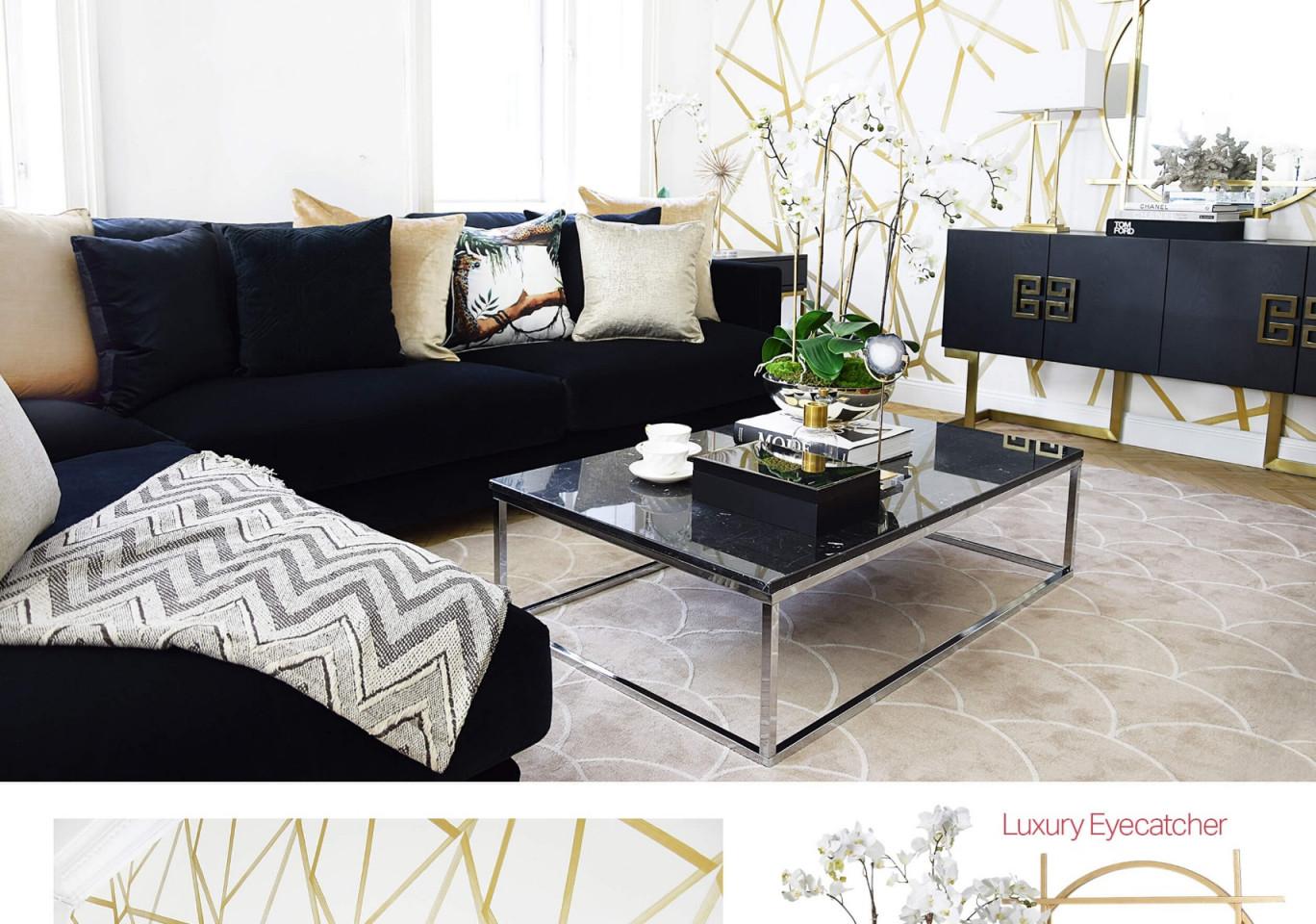 Wohnzimmer Design Gold – Caseconrad von Chrom Deko Wohnzimmer Photo